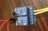 Contrôle léger en utilisant Arduino avec module relais AC