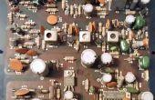 Comment faire pour récupérer des composants de l'électronique vieux ou cassés sans un fer à souder !