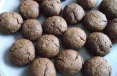 Biscuits aux amandes au chocolat doubles