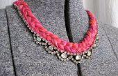 BRICOLAGE de Thread et de bijou collier