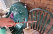 Redresser le paddle tennis de table déformé (bat, raquette, raquette) avec une presse bricolage bat