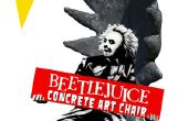 Beetlejuice béton Art chaise