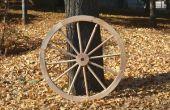 Fabrication de roues de Wagon en bois