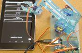 Télécommandé bras robotisé (MeArm) à l'aide de pfodApp