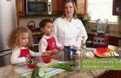 Des recettes saines pour les enfants