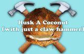 Comment Eplucher un noix de coco (avec seulement un marteau de charpentier)