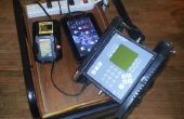 Solar Powered Universal Mobile, Station de recharge
