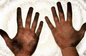 Comment se laver les mains sales ?