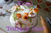 Gâteau floral tentacule