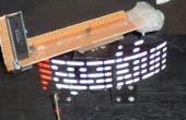 Le « One Chip Spinning RGB POV Display » avec logiciel de conversion.