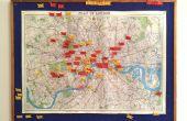 Choisissez votre aventure   Londres Carte & indicateur défini