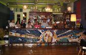 Tuile de mosaïque bar avant