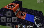 Minecraft Pocket Edition TNT Cannon