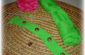 Comment tricoter une bande côtelée boutonnière pour un pull ou un cardigan