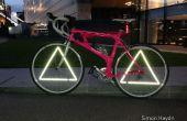 Réflecteurs de triangle de roue - vélo