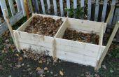 Bac à compost double