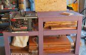Banc de scie Workbench avec stockage de bois