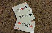 Cela, qui et autres - le tour de magie cartes