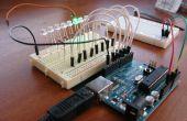 8-LED Larson Scanner avec Arduino