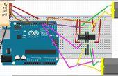 Bluetooth Robot commandé en utilisant Arduino