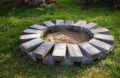 Construire un anneau de feu ou de la fosse