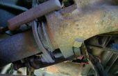 Bride d'échappement réparer/remplacer le convertisseur catalytique (camion ford 91)