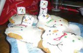 Fondu de bonhommes de neige Cookies