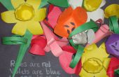 Papercraft fleurs (facile)