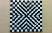 Mosaïque d'Illusion d'optique LEGO