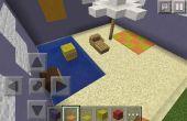 Minecraft parasol et chaise de plage