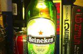 Bière bouteille lampe