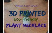 3D imprimé collier de plante repousse