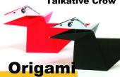 Comment Origami un corbeau parlant