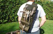 Cuir toile Style sacs à dos et harnais pour chien