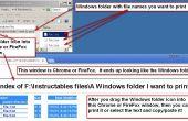 Comment rapidement imprimer la liste des fichiers dans un dossier Windows