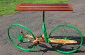 Arbre branche et vélo Hall Table