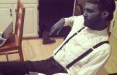 Costume Film Muet noir et blanc + maquillage Tutorial