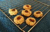 Cookie de flocons d'avoine aux raisins 3 ingrédient