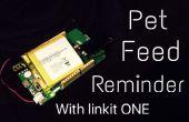 Faire un Simple rappel d'aliment pour animaux de compagnie avec Linkit ONE