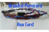 Tressé paracorde auxiliaire câble (cordon Aux)
