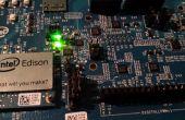 Raccordement de capteurs de Edison Intel vers le nuage