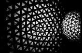 La lampe de sphère Origami