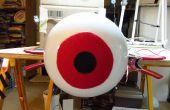 Arduino énorme animatronique LED globe oculaire