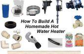 Comment construire un chauffe-eau maison