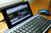 Clavier souris & pour tablettes (Nexus 7)