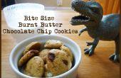Mordre le beurre Chocolate Chip Cookies de taille brûlé