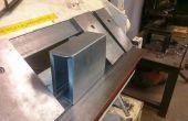 Outil de pliage boîte faite à Techshop.ws en métal