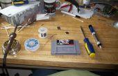 Remplacement d'une CR2032 snes panier batterie