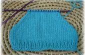 Comment diminuer parfaitement pour former le façonnage d'épaule coutures sur tricot manches