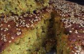 Gâteau de riz-lentilles épicée